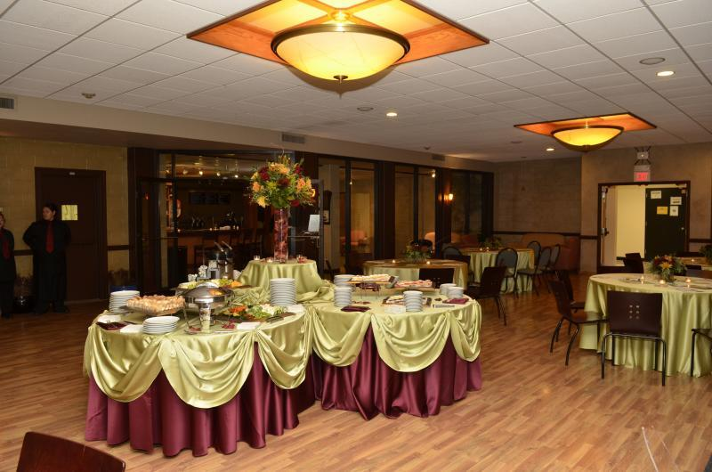 The Courtyard Cafe is ideal for smaller to midsized groups
