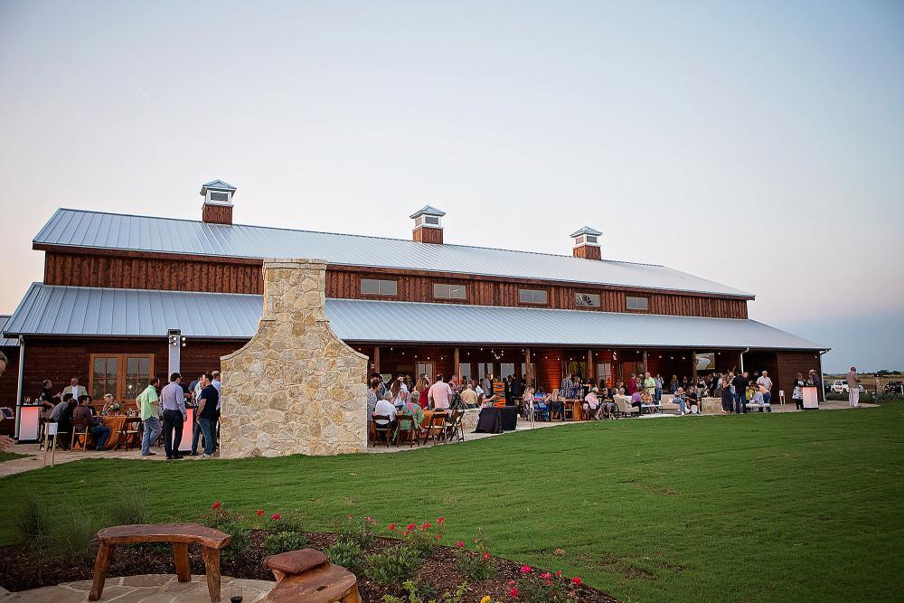 Our 10,000 sq ft air-conditioned event center