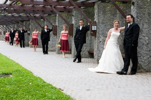 Champlain College Wedding