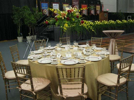 Host your next gala in the Clemente Center for Sports and Recreation
