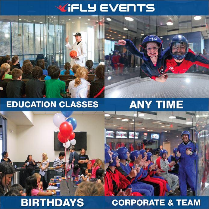 We offer all types of events to best suit your needs!