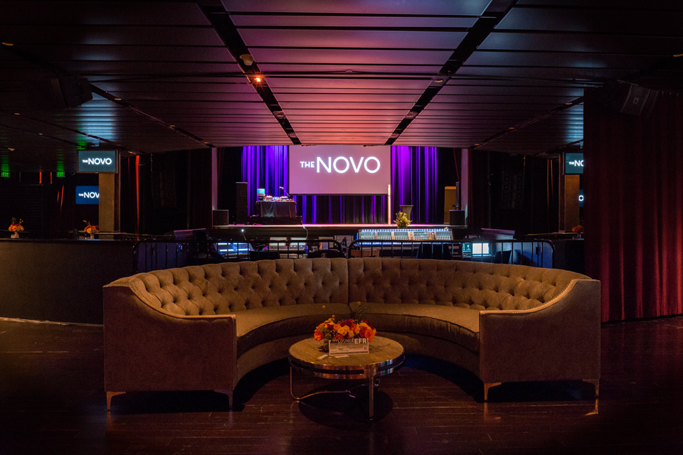 The Novo - Event Setup