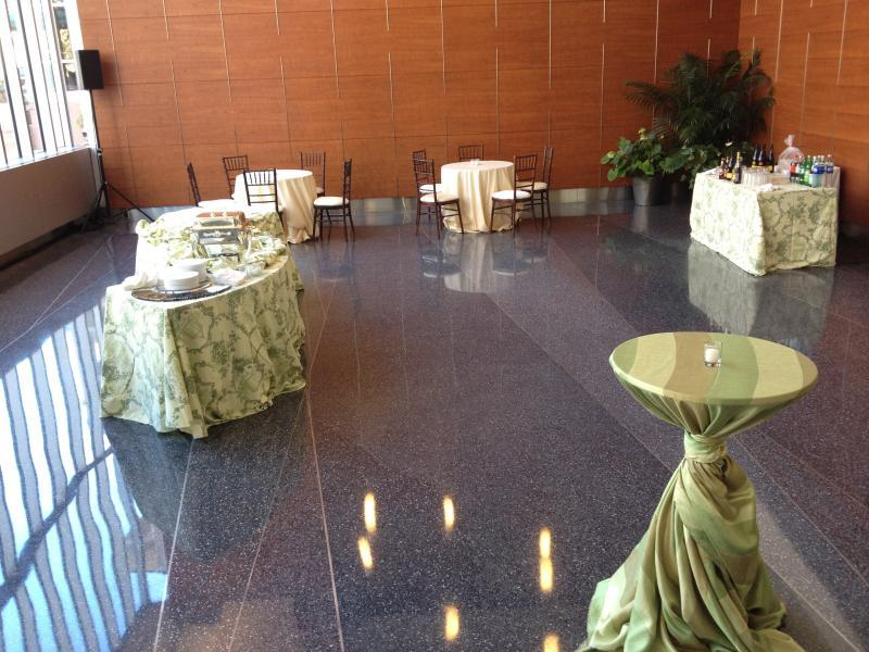 Reception in the Lobby Area