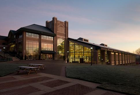 The Scot Center: home to our state of the art athletic facilities and fitness center.