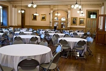 Social Hall - perfect for banquets and conferences