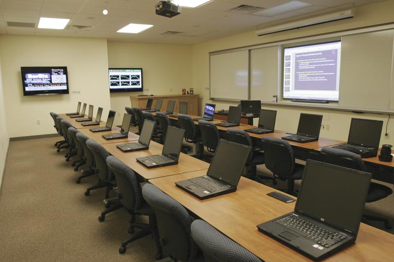 Technology Facilitated Classrooms at Curry College