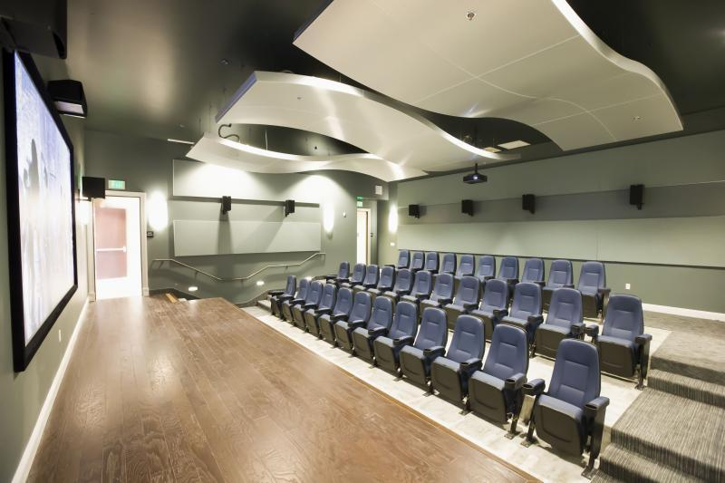 Theatre room is perfect for training, seminars and awards events
