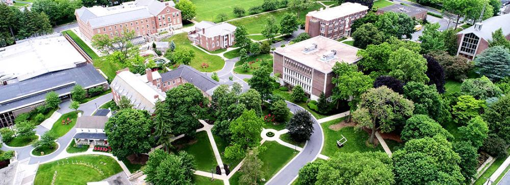 Get a bird's eye view of Albright