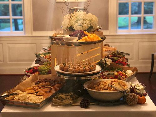 Reception Grazing Table