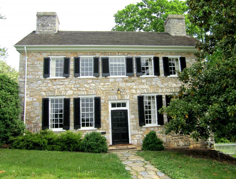 Make yourself at home in the East House, the original kitchen building