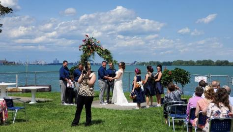 Wedding Ceremony on the River