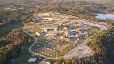 Aerial of Entire Facility