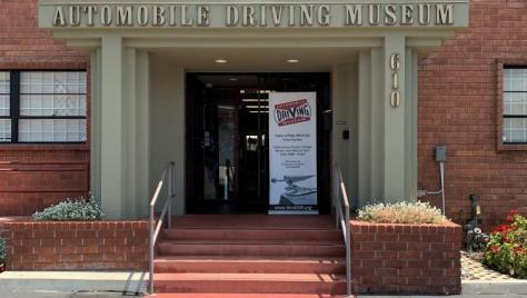 Automobile Driving Museum Front of Museum