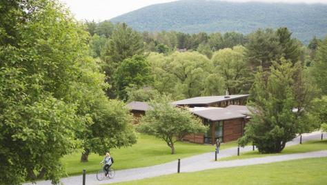 An idyllic summer conference and event venue, the campus is quiet and peaceful.