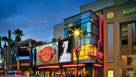 Hard Rock Cafe Hollywood Blvd