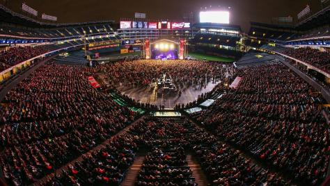 The Field is the perfect space for any concert