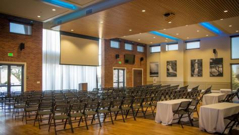 Main Hall for all types of meetings, conferences or events