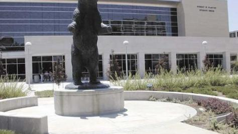 Bronze Bear at Student Union