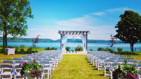 Say I Do at our oceanfront pergola!