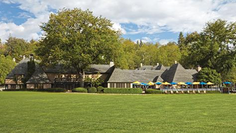 The Main Lodge at the UCLA Lake Arrowhead Conference Center