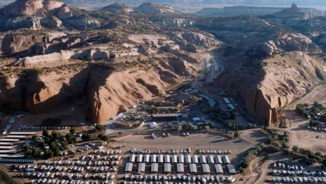 Red Rock Park Arial Shot