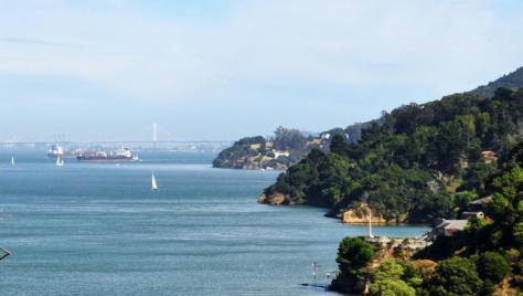 View of the SF Bay from the conference center