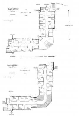 Bushnell Residence Hall Floor Plan
