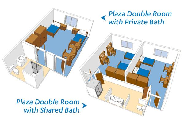 Plaza Rooms