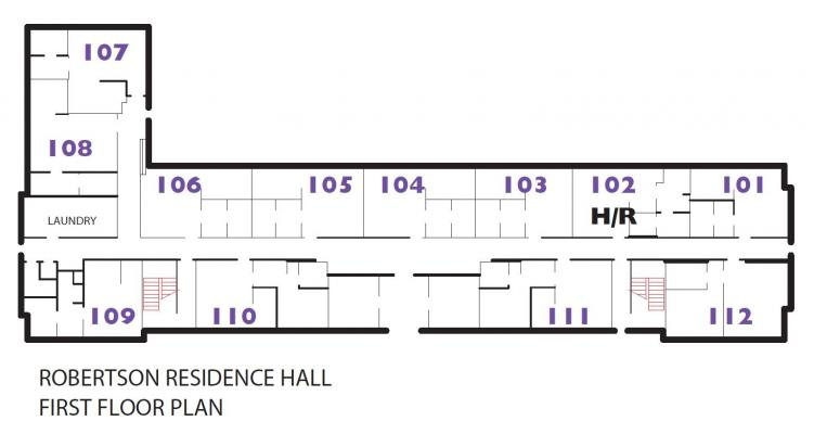 Robertson Hall Floor Plan