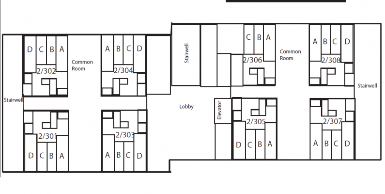 Eastside Suites Floorplan