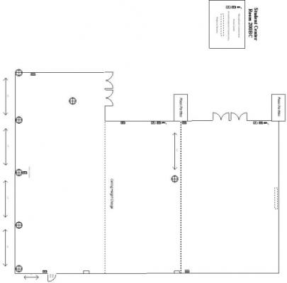 Howard Gittis Student Center Room 200 (Sections B&C Combined) Base Layout