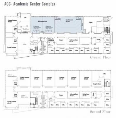 Floor Plan of ACC