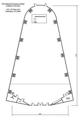 Auditorium Floorplan