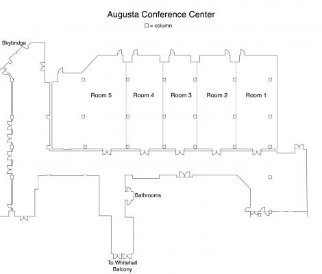 Augusta Conference Center Floorplan