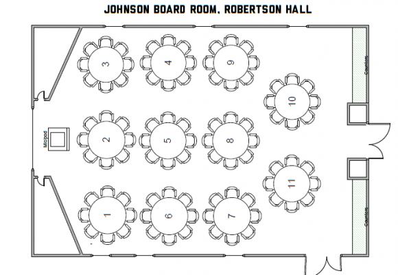 Johnson Board Room, Robertson Hall