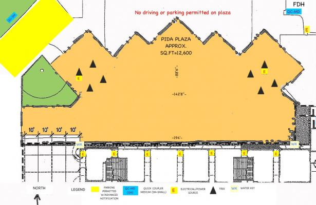 Diagram of Pida Plaza