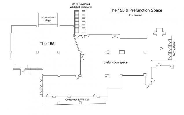 The 155 Room Floorplan