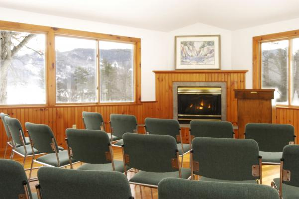 Sproul Pavilion at Silver Bay YMCA Interior