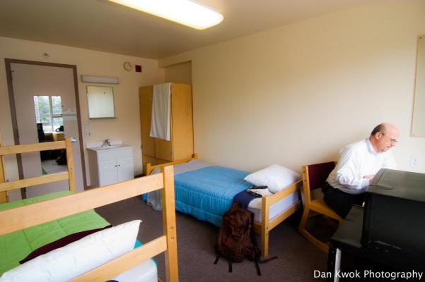 Bellarmine Hall residence room