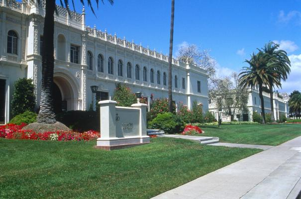 Camino and Founders Halls Exterior