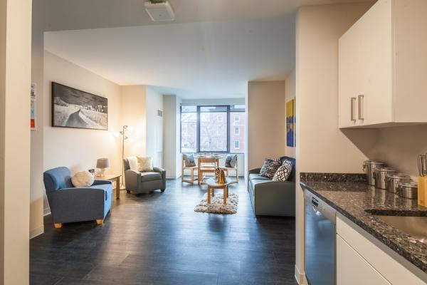Emmanuel College New Residence Hall Apartment