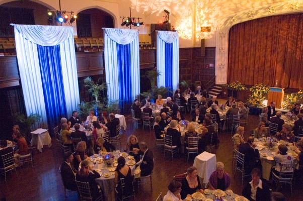 Mount Holyoke College Wedding and Banquet Space; Chapin Auditorium