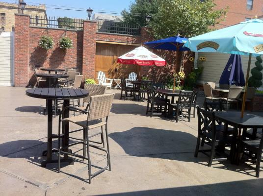 Backyard Ale House Patio