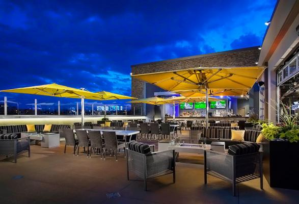 Topgolf Rooftop Terrace