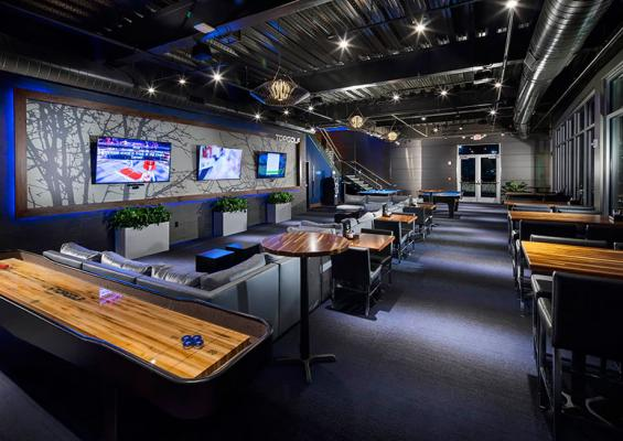 Topgolf Lower Level Lounge