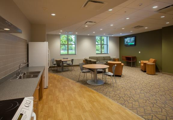 Bousfield Residence Hall - Recreation Room