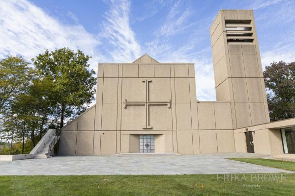 Sweeney Chapel, photo by Erika Brown Photography