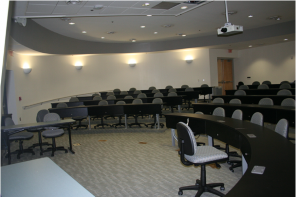 Discovery Auditorium at Mason's SciTech Campus in Manassas, Virginia
