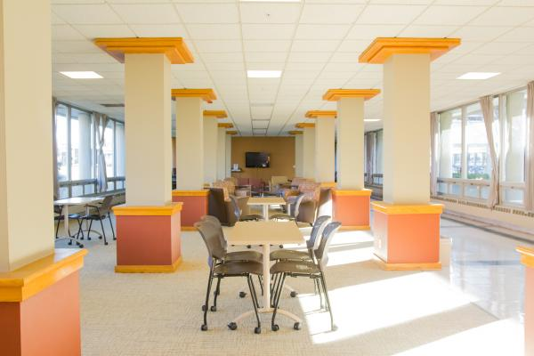 Hopkins Residence Hall - Main Lounge
