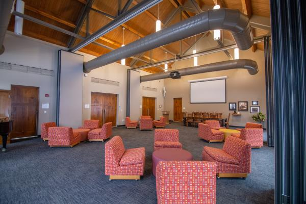 The McGinley-Carney Center for Franciscan Ministry Great Room